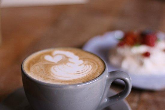 Hosana Café: cappuccino