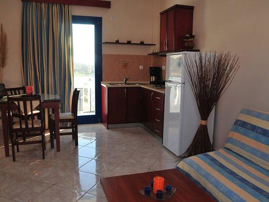 Arkasa Palace Boutique Villas: Apartment 1 bedroom with Sea View