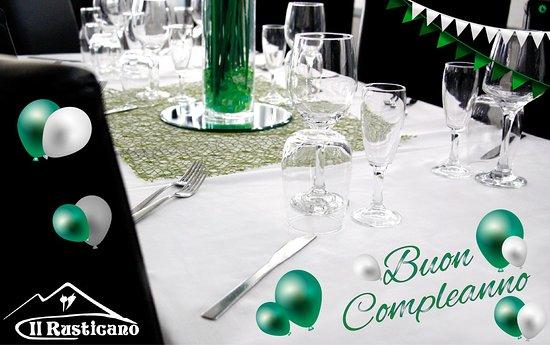 Vorresti festeggiare il tuo #compleanno da noi? 😍 👉 Al #Ristorante Il Rusticano sarai ospitato in accoglienti sale e soprattutto potrai deliziarti con irresistibili preparazioni culinarie.😋  Se vuoi che il tuo #compleanno sia indimenticabile prenota subito il tavolo per la tua #festa da noi! 🎉
