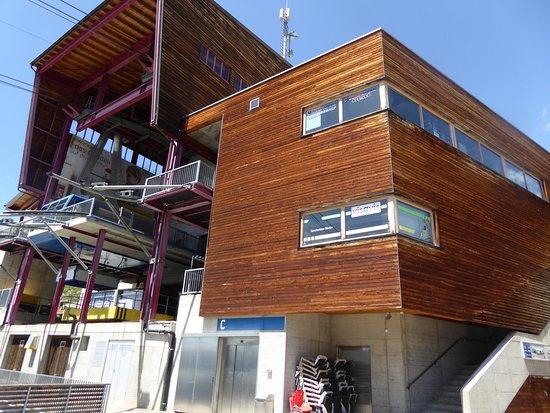 Wiler, Швейцария: Die angrenzende Bergstation der Lauchernalpbahn.