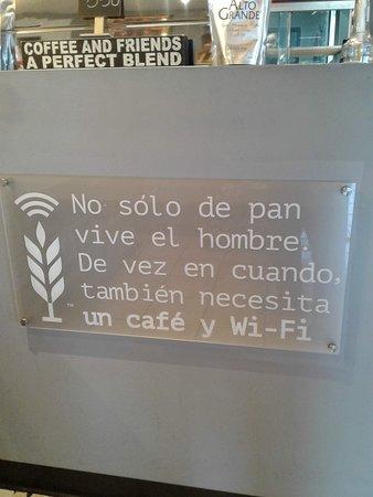 Me encanta el mensaje ... el ambiente es propicio para conversar
