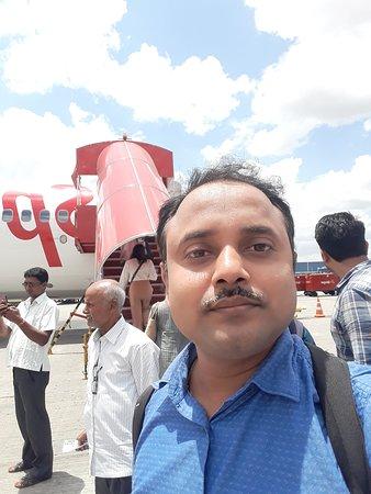 Online Suites: Me at Bengaluru Airport