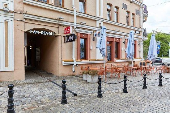 Minsk, Belarus: I AM Revolt. Lounge & Party Bar ул. Революциoнная, 17/1