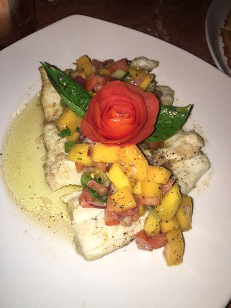 Must try: Buttered fish with Mango