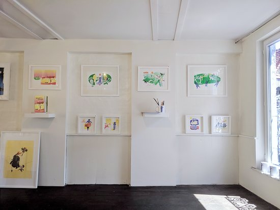 Galerie Magiek: An exposition of original illustrations and interpretations of the legend of Baldwin and the Bear of Bruges