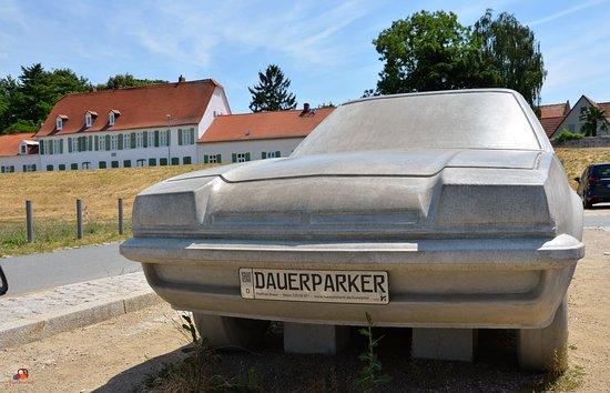 """Statue """"Dauerparker"""""""
