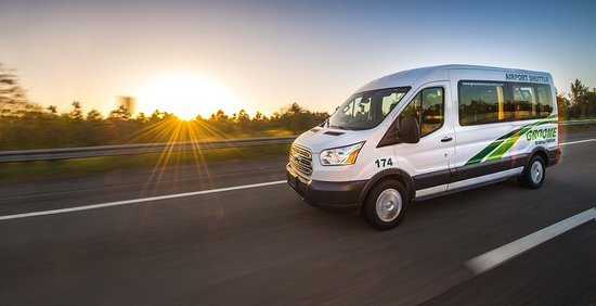 Albany, OR: Groome Transportation - Daily roundtrip shuttle service to Portland Int'l Airport (PDX).