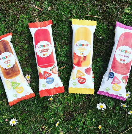 Taylor Made Coffee Van: Our all natural, organic pressed fruit ice lollies
