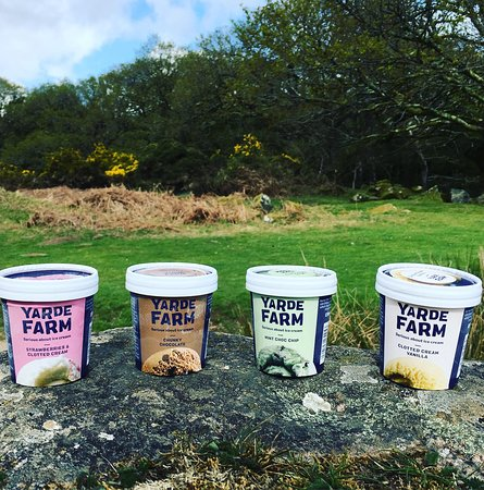 Taylor Made Coffee Van: Our delicious ice creams from our local dairy, Yates Farm