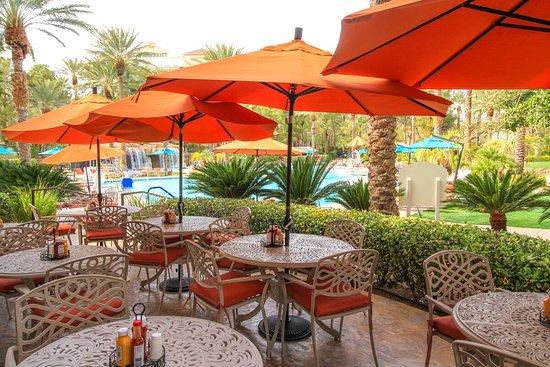 Waterside Cafe Seating