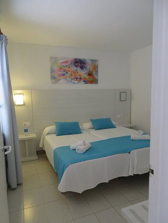 Our apartment at Roc Lago in Menorca. It was very clean, spacious and cool. Perfect!
