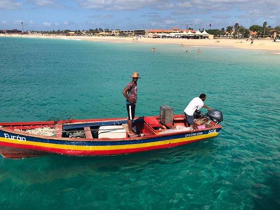 Paradise Adventures with Gus: Fisherman in Santa Maria