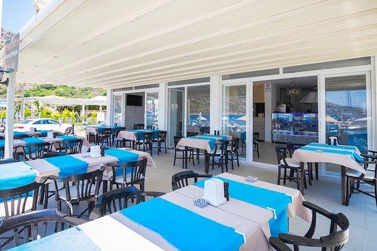 Sogut, Turkey: Kaptan-ı Derya'nın zengin mutfağı siz değerli misafirlerimize unutamayacağınız lezzetler sunuyor. Taze, günlük balıklar ve deniz ürünleri, kırmızı etler, birbirinden leziz mezeler ve güne özel tatlılarımız ile sevdiklerinizle birlikte lezzetli bir gün geçirmenin keyfini çıkarın.