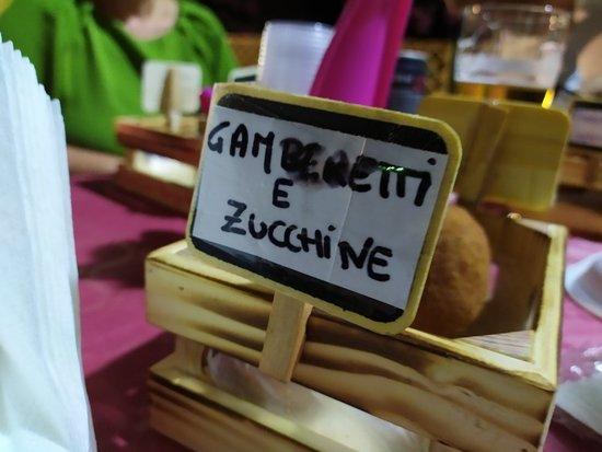 Mongiuffi Melia, إيطاليا: Complimentissimi... un ottimo e tipico compromesso fra Presentazione e gusto.