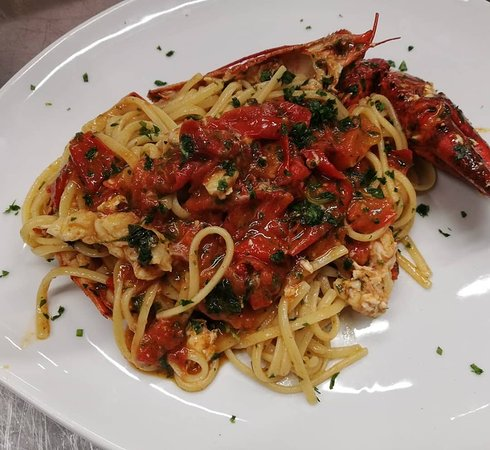 New Bistrot: Spaghettoni all'aragosta.