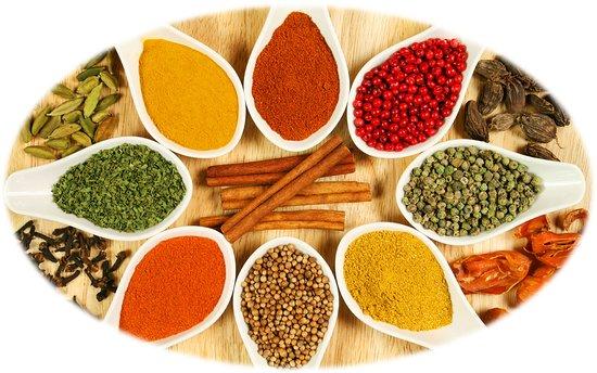 Punjaabi Sweets & Restaurant (LLBO): spices
