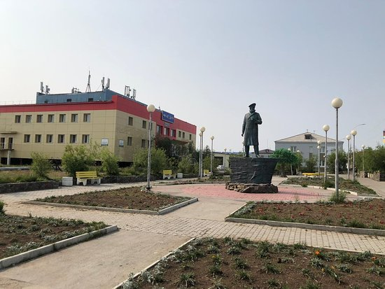Monument Grinevetskiy Frantsevich Leonid