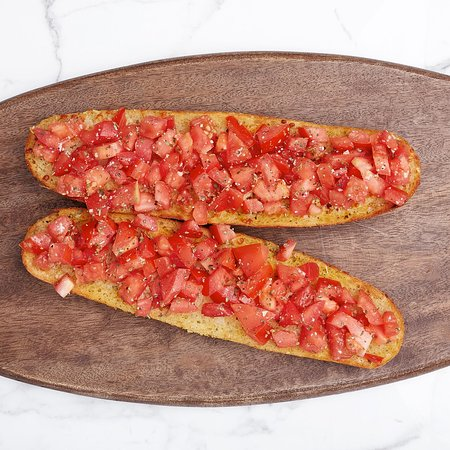 Gino's Pizza: That is our sumptuous Bruschetta!!