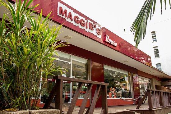 Maggie's House: Fachada atual (julho/2019)