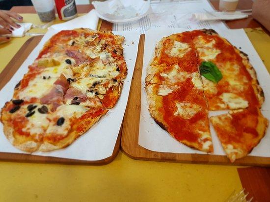 Habemus pinsa: Pizza