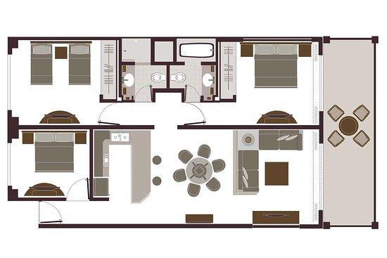 Bedroom Suite Floor Plan Velas Vallarta S Picture Of Velas Vallarta Puerto Vallarta Tripadvisor