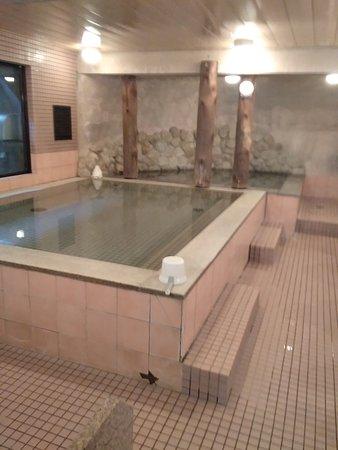 市街地の風呂は価値があります。ゆったりできます。