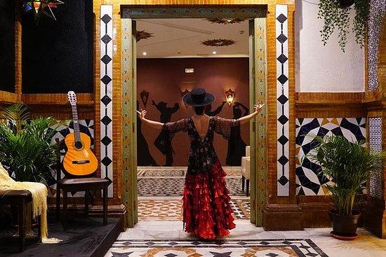Flamenco show in Triana with drink