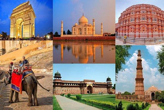 5-Days Golden Triangle Tour {Delhi Agra Jaipur Tour}: 5-Days Private Golden Triangle Tour Delhi Agra Jaipur Tour