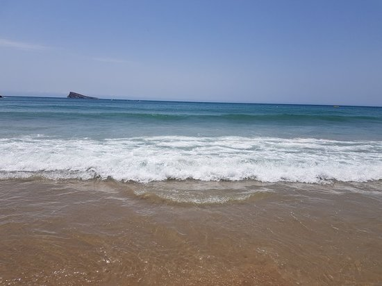 Poniente Beach: Beautiful beach
