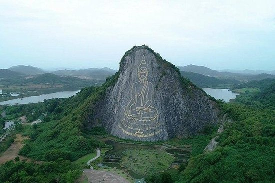 SongthaewによるSelfieシティ&パタヤの寺院ツアー(パタヤのロー…