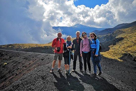 Excursión al cráter 2002 - Etna del...