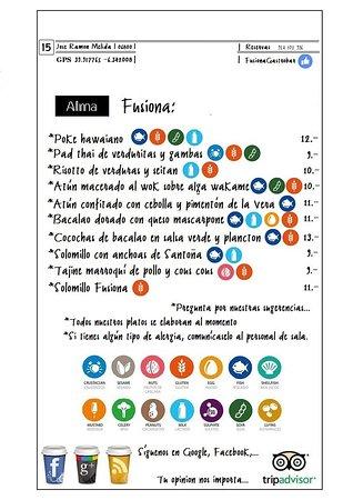 Fusiona Alma Pirata: Nuestra carta...