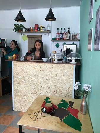 The best cafe in Kyrgyzstan