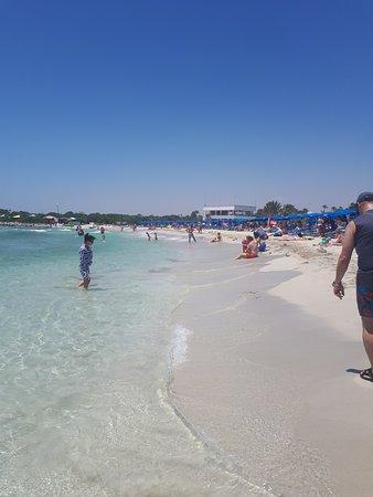 Christofinia Hotel Cyprus: Ланда бич
