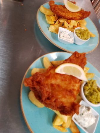 Fish & Chips who can resist.
