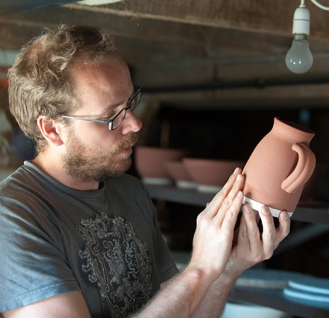 Alex Allpress Pottery School - From Clay to Kiln - Experience Workshops and 1-1 tuitions in stunning Mid Wales