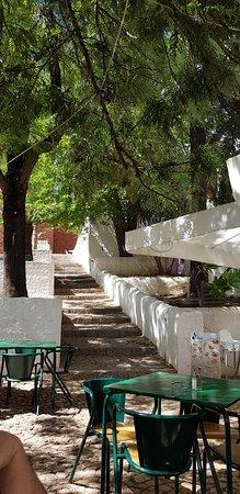 Café Inglês: la terrasse du café ingles