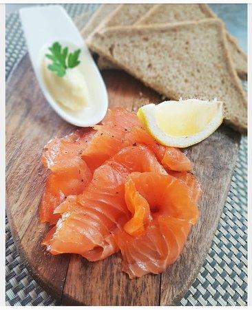 John Ketley famouse Smoked Salmon