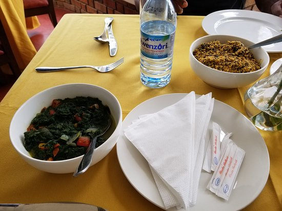 Pepper Soup and Spinach