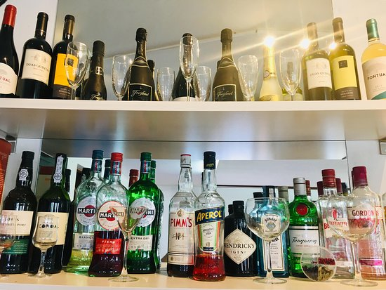 The Smokehouse and Tapas Bar : Some of our drinks available at the bar !