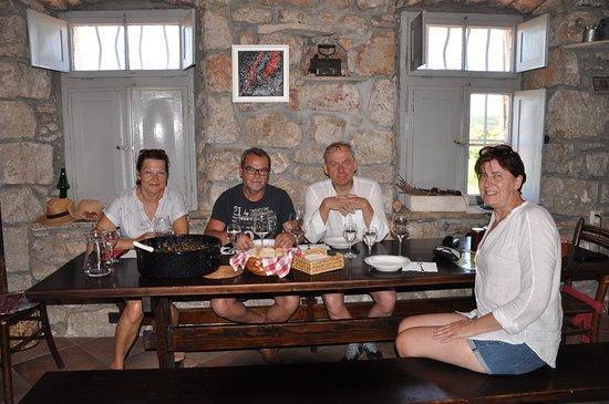 Kuna Peljeska, Kroatia:  Dziękujemy, za gościnę- do zobaczenia wkrótce