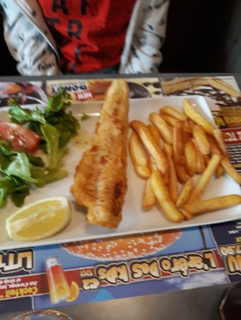 """menu enfant, avec un """"vrai"""" filet de poisson"""