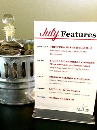 La Piazza Cucina Italiana: July Features