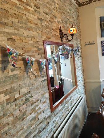 Caspian Turkish Restaurant : Birthday decorations, on us when requested