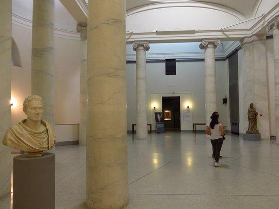 Museo Civico Ala Ponzone: la sala delle colonne