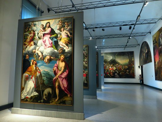 Museo Civico Ala Ponzone: la sala San Domenico