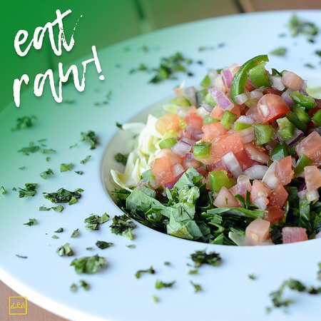 Going raw? Come to Feedel Bistro!