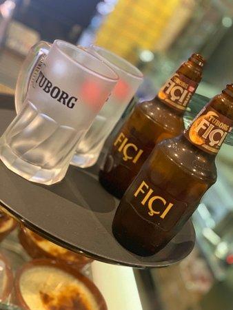 Tuborg FIÇI beer.