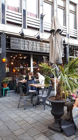 Urban House: Urban cafe from outside