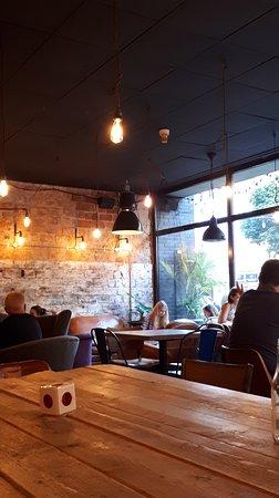 Urban House: Inside Urban cafe